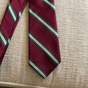 Men's Red, Green & White Tie [ HOLIDAY ]